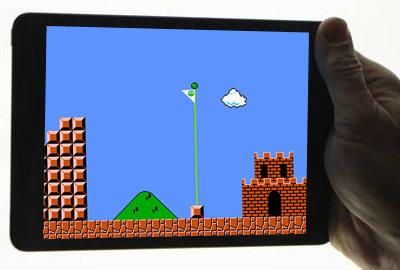 Nintendo Mario on iPad