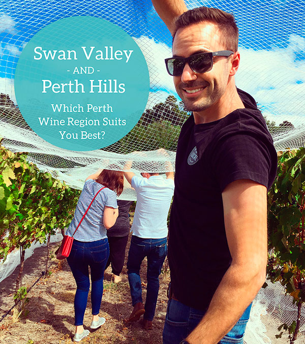 The Swan Valley or Perth Hills which Perth Wine Region suits you best?
