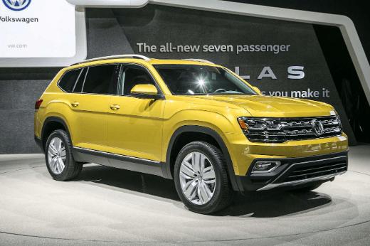 2020 Volkswagen Atlas Concept, Price and Redesign