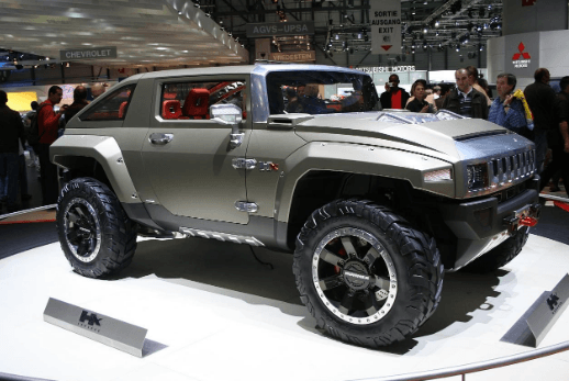 Hummer HX Interiors, Concept and Price