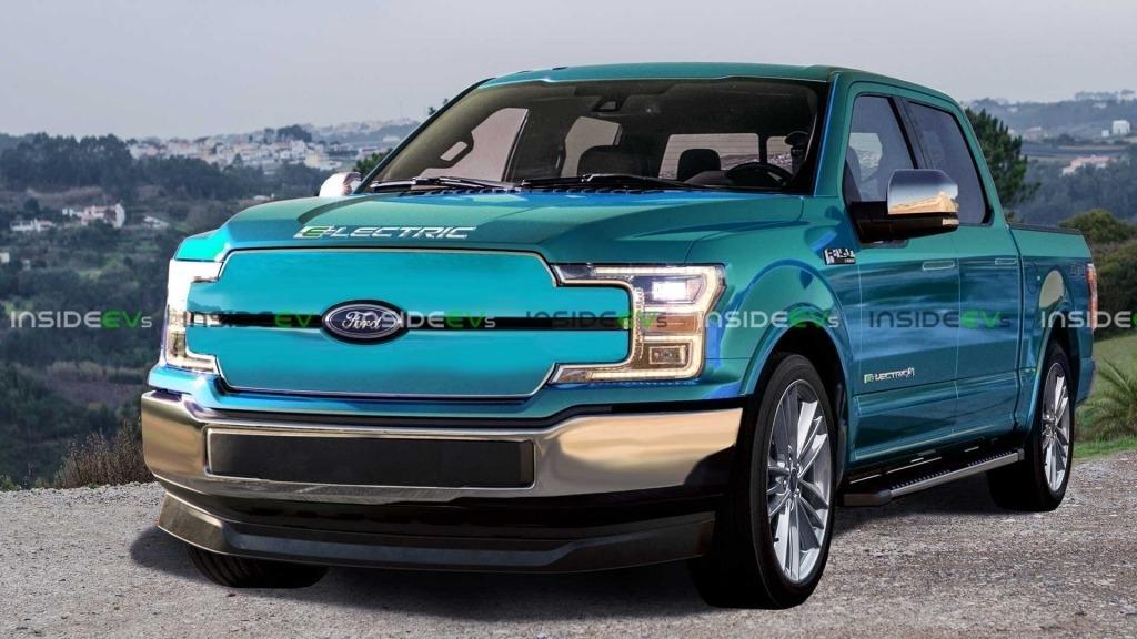 2022 Ford F150 Electric Powertrain