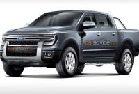 2022 Ford Ranger Spy Photos
