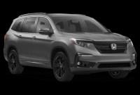 2021 Honda Pilot Black Edition Release date