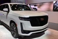 2022 Cadillac Escalade EXT Spy Shots