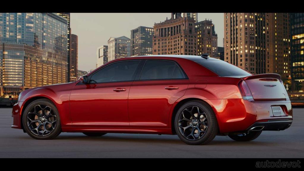 2022 Chrysler 300 Specs