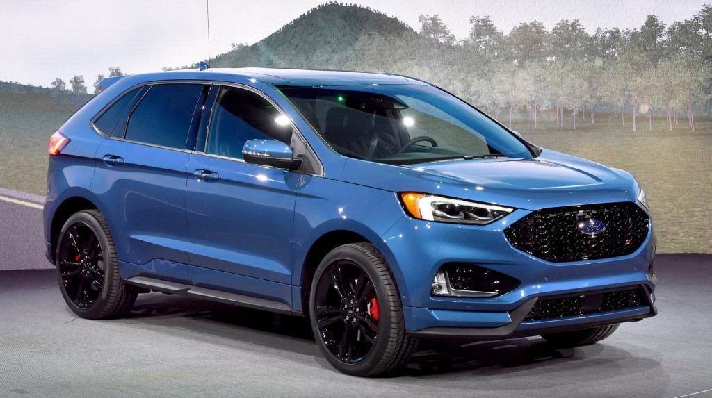 2022 Ford Edge Spy Photos