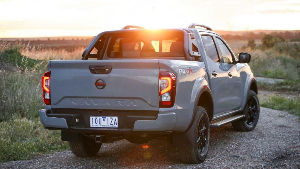 2022 Nissan Frontier Pro4X Drivetrain