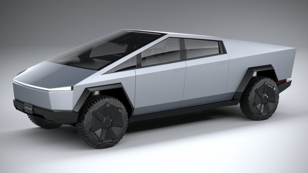 2022 Tesla Cybertruck Spy Shots