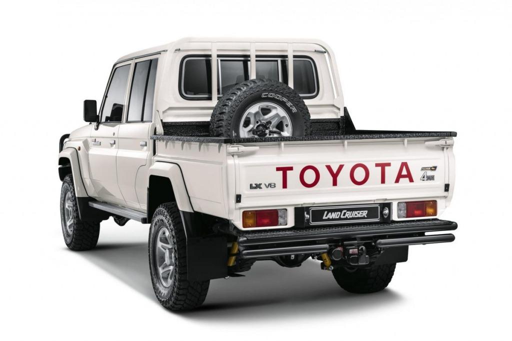 Toyota Land Cruiser Namib Edition Drivetrain