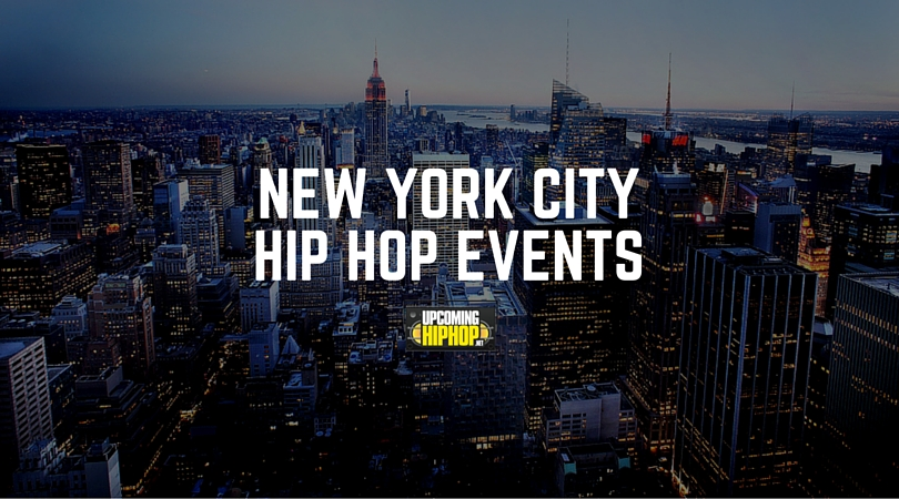 new york city hip hop events On events going on in new york city