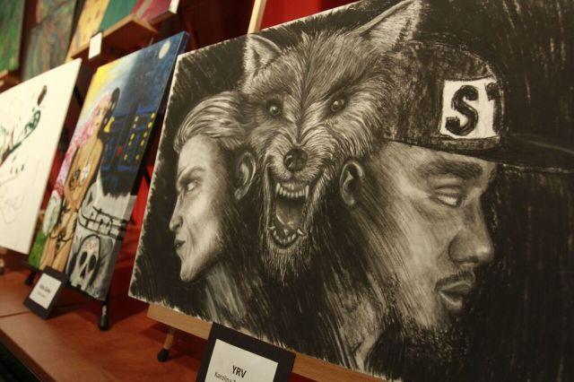 Art Work by Karolina M Tyszkowska, 3rd place winner