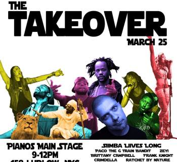 [Event] Brooklyn Wildlife and DirtyLife Plan to Takeover NYC Venue, Pianos 3/25/16