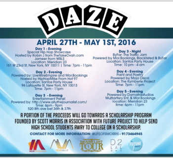 Don't Miss 'DAZE' - A 5-Day Music Summit in NYC