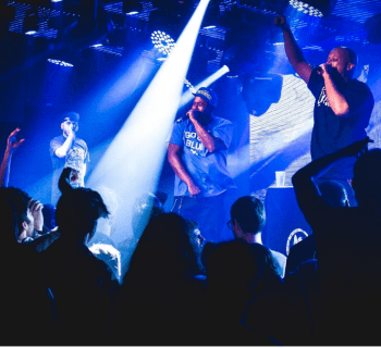 [Photos From Last Night] CunninLynguists Headline Under the Bridge in London