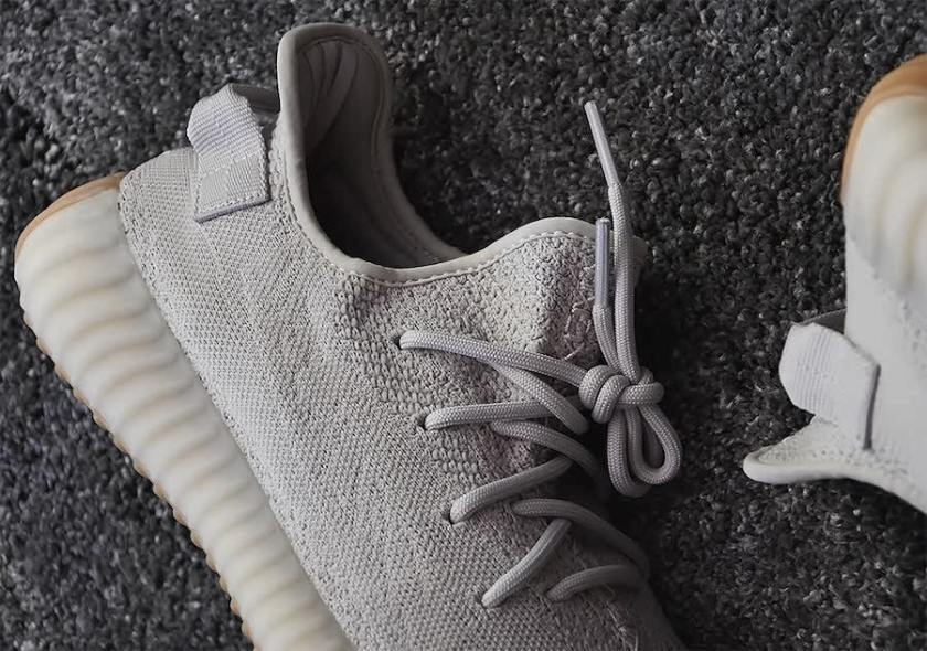 Adidas Yeezy Boost 350 V2 with smoky boost midsole