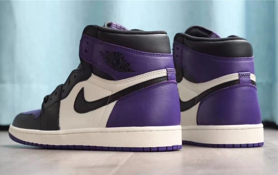 The Royal Air Jordan 1 Retro High OG Purple Features ...