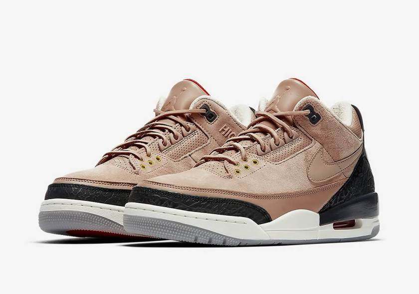 Air Jordan 3 JTH Bio Beige with Justin Timberlakes signatures