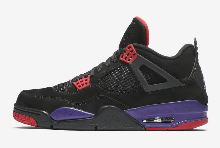 Air Jordan 4 NRG Raptors with Incredible use of colors