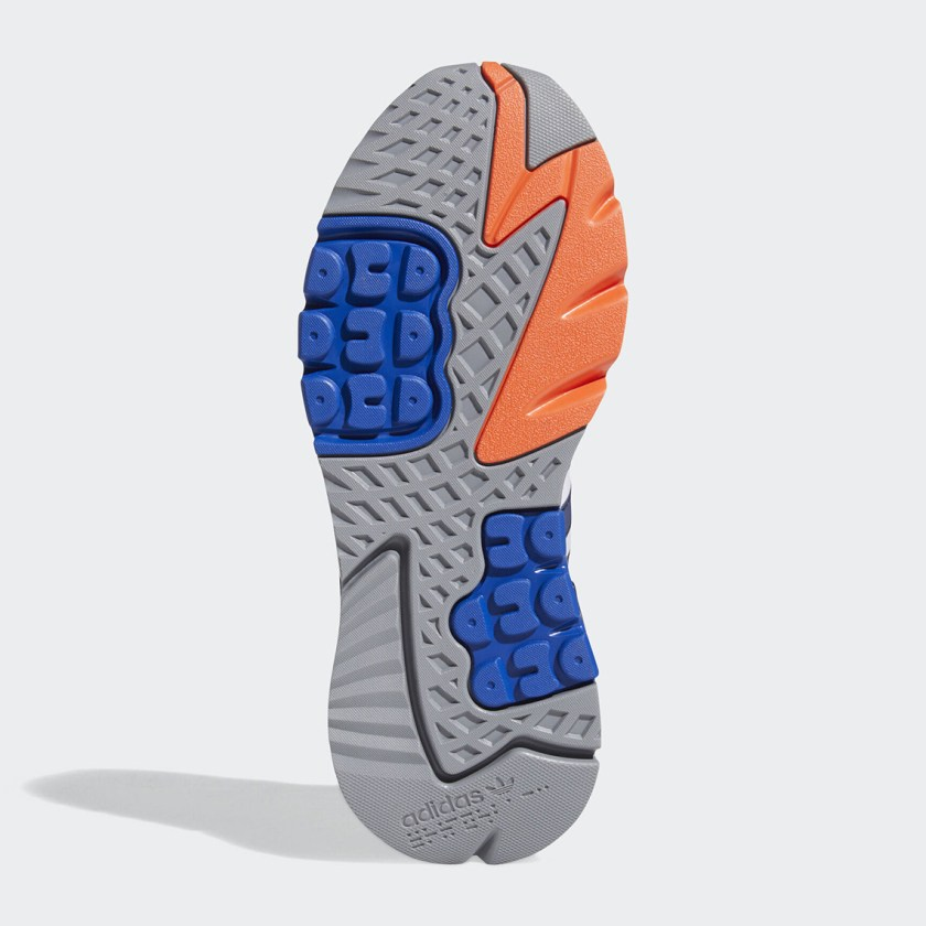 Adidas Nite Jogger with Blue and Orange