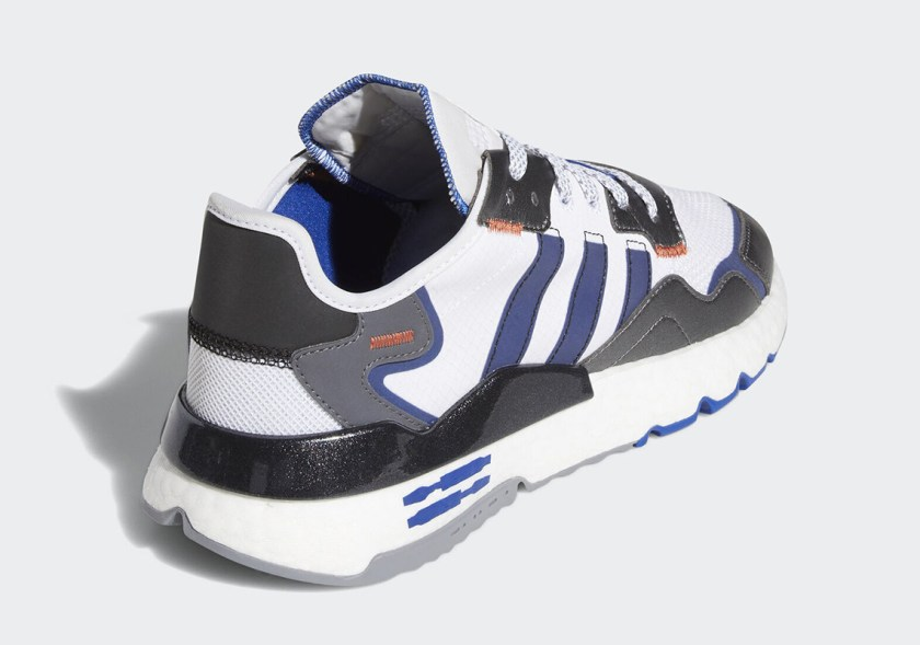 Adidas Nite Jogger with Low tops