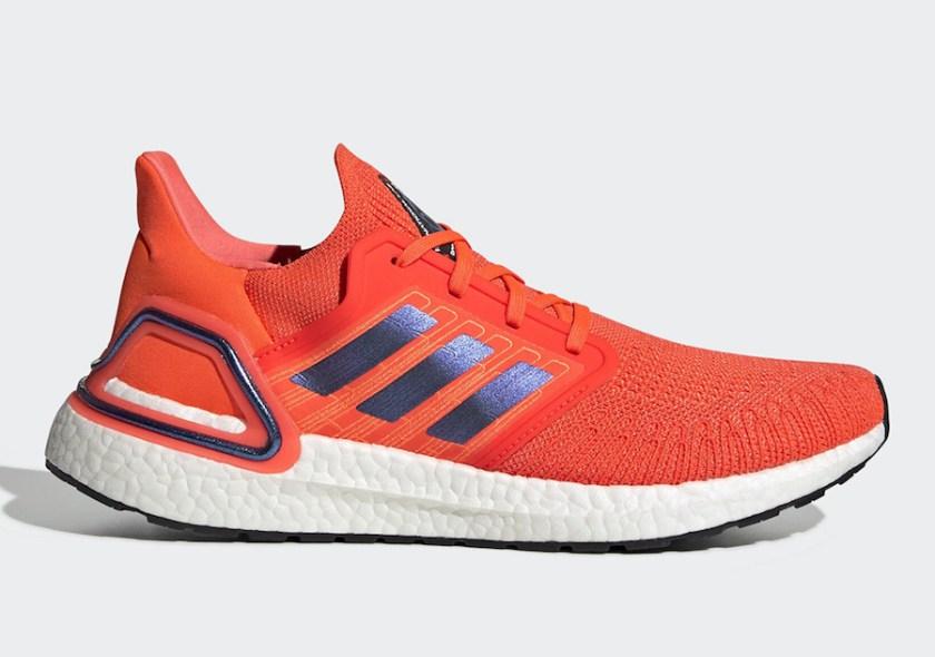 Adidas Ultra Boost 2020 with Orange