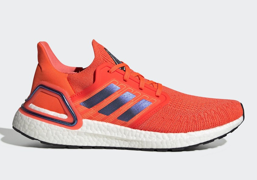 Adidas Ultra Boost 2020 with Orange