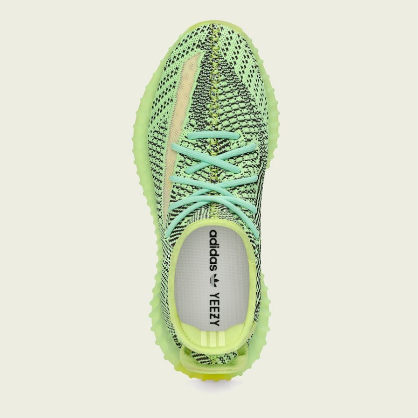 Adidas Yeezy 350 Boost with Incredible use of colors