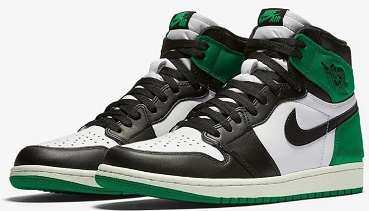 "Air Jordan 1 Retro High OG ""Lucky Green"""