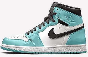 Air Jordan 1 Retro High OG WMNS Patent Leather 'Aurora'