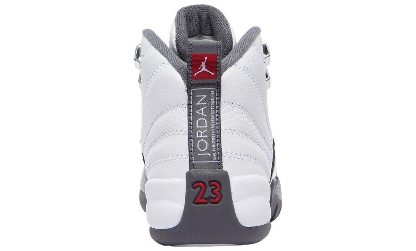 Air Jordan 12 White Grey with Premium-quality built