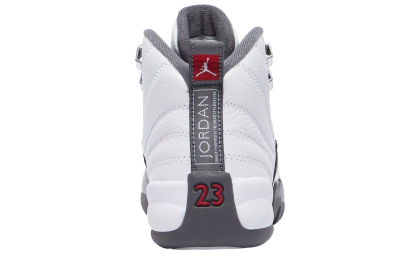Air Jordan 12 White Grey with Premium-quality built