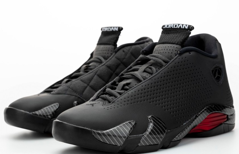 Air Jordan 14 Ferrari with Black carbon fiber