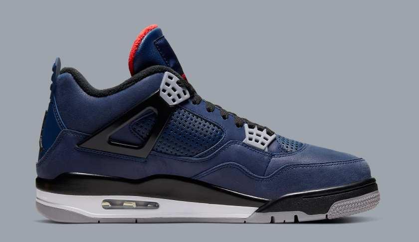 Air Jordan 4 WNTR with Loyal Blue colors