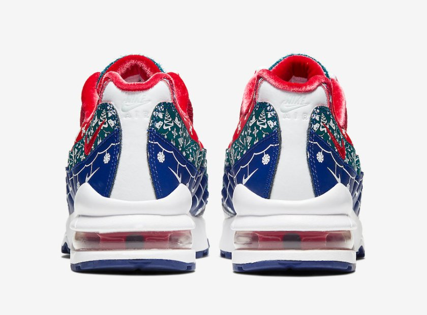 Nike Air Max 95 with red combination