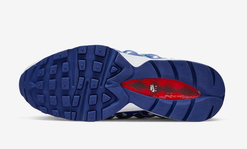 Nike Air Max 95 with season colors