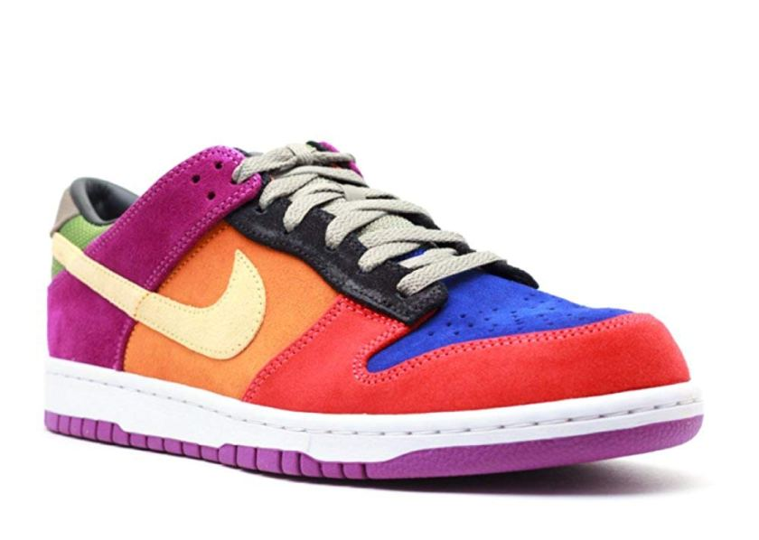 Nike Dunk Low Viotech with blue color