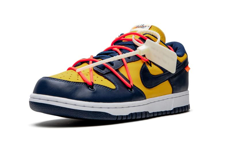 Nike Dunk Low with strong structure