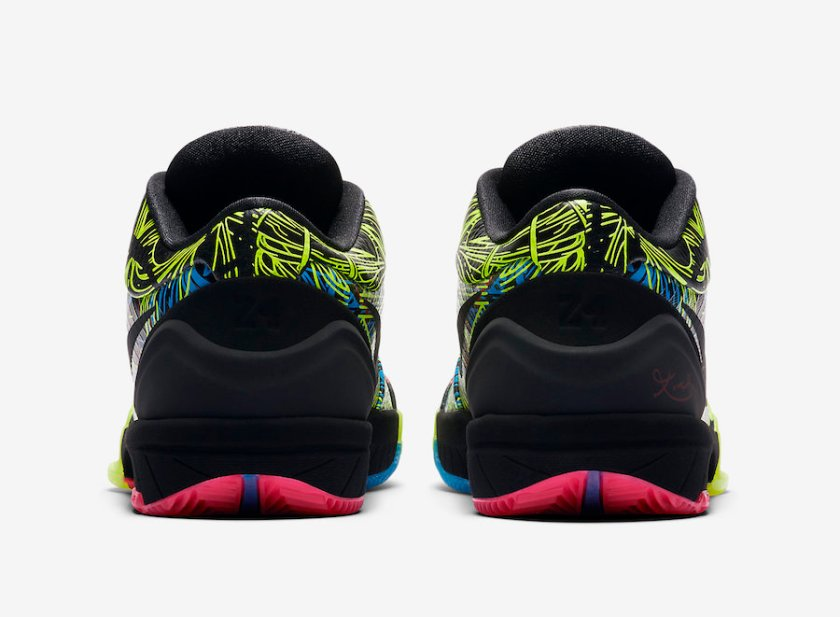 Nike Kobe 4 with comfortable low tops