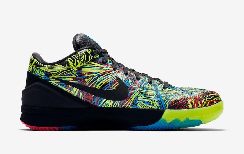 Nike Kobe 4 with low-tops