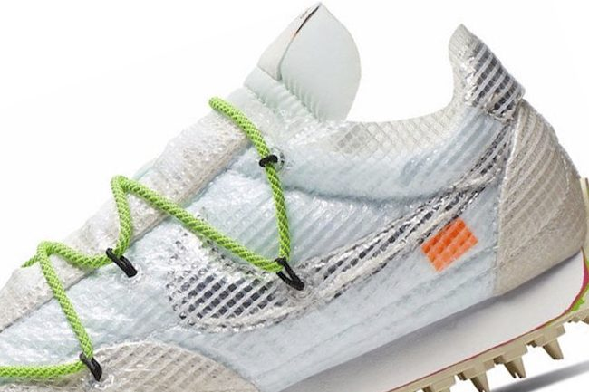 Nike WMNS Waffle Racer White with classic model