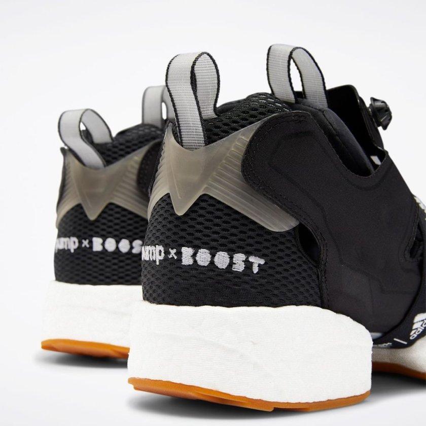 Reebok Instapump Fury Boost Black with comfort color schemes