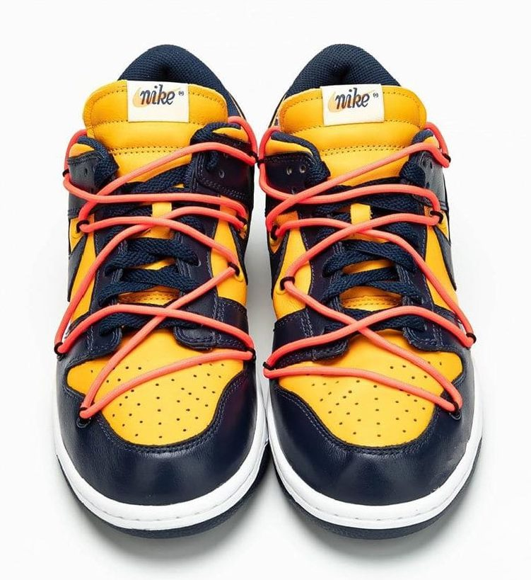 Nike Dunk Low with traditional colors