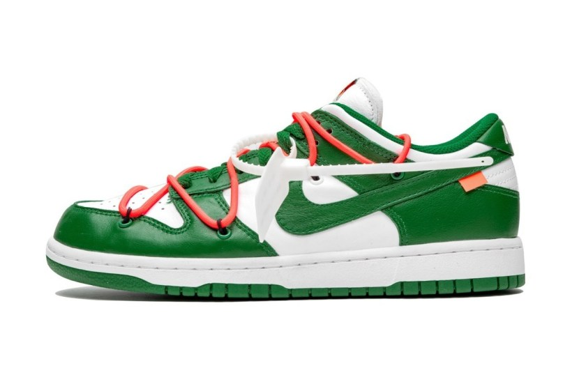 Nike Dunk Low with eye caching design