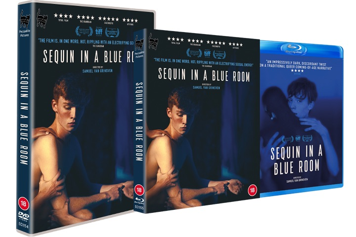 Peccadillo Pictures Announces The Home Entertainment Release for Sequin In A Blue Room