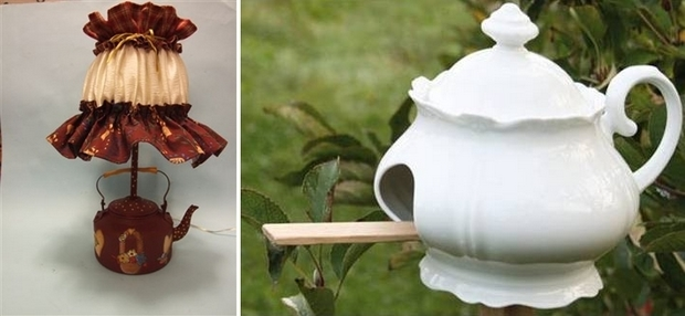 Wooden Wall Clock 20 Inspiring Ideas Of How To Reuse Teacups And Teapots