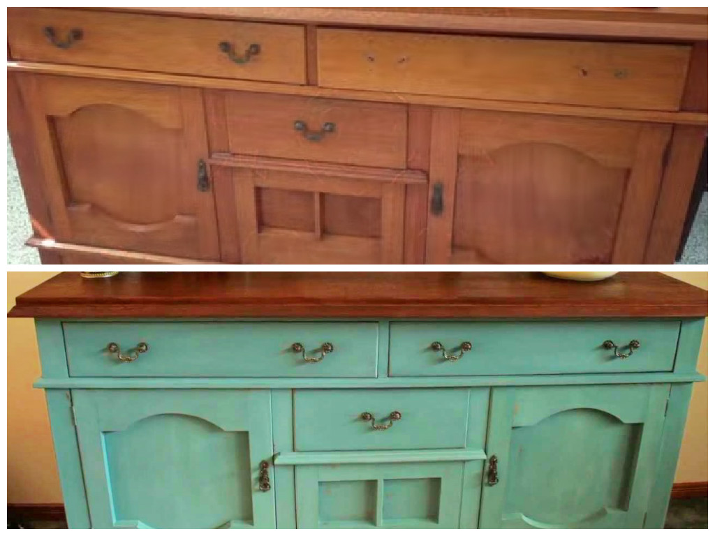 How To Use Milk Paint To Upcycle Furniture