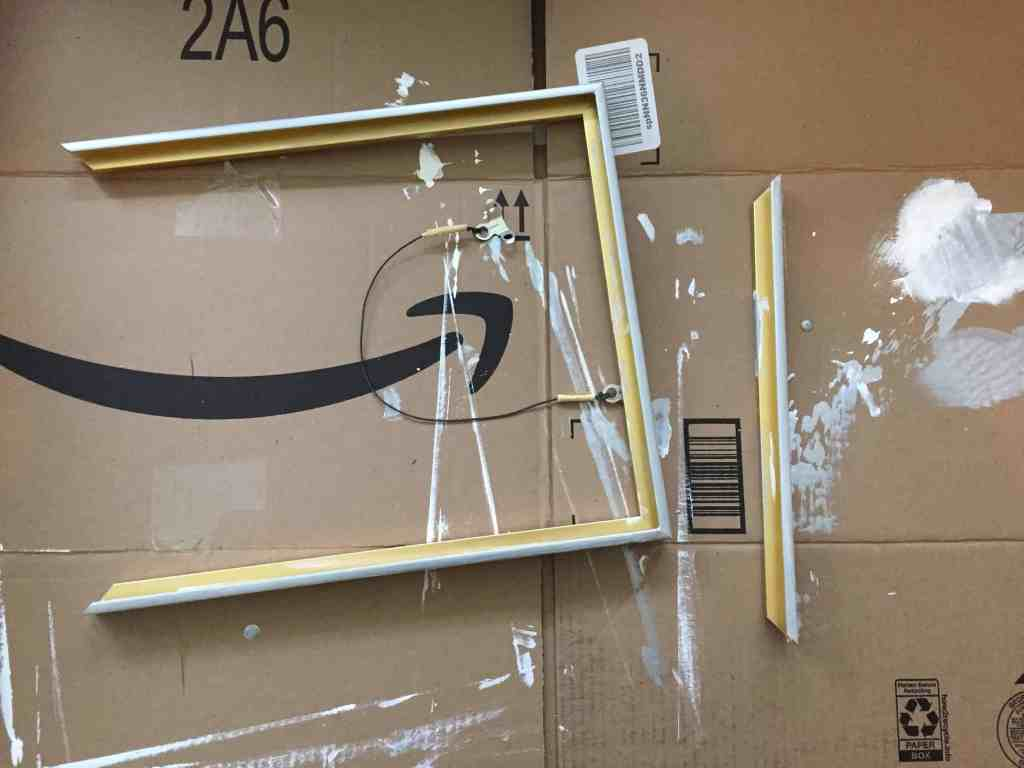 Upcycle a modern frame
