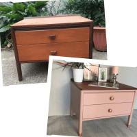 How to Upcycle a Chest of Drawers - the 'Pink Lady'