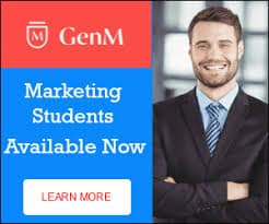 marketing students available