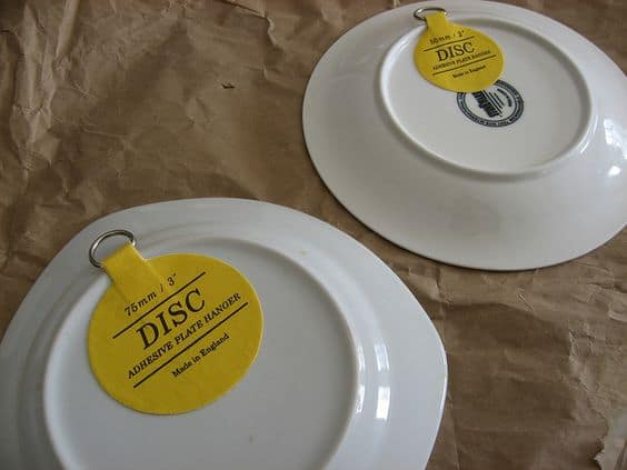 plate hangers for plate wall